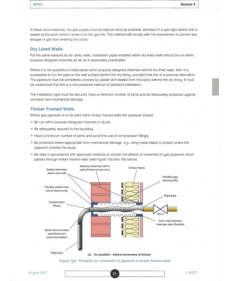 BPEC Core Domestic Gas Safety Learning Manual (PDF)