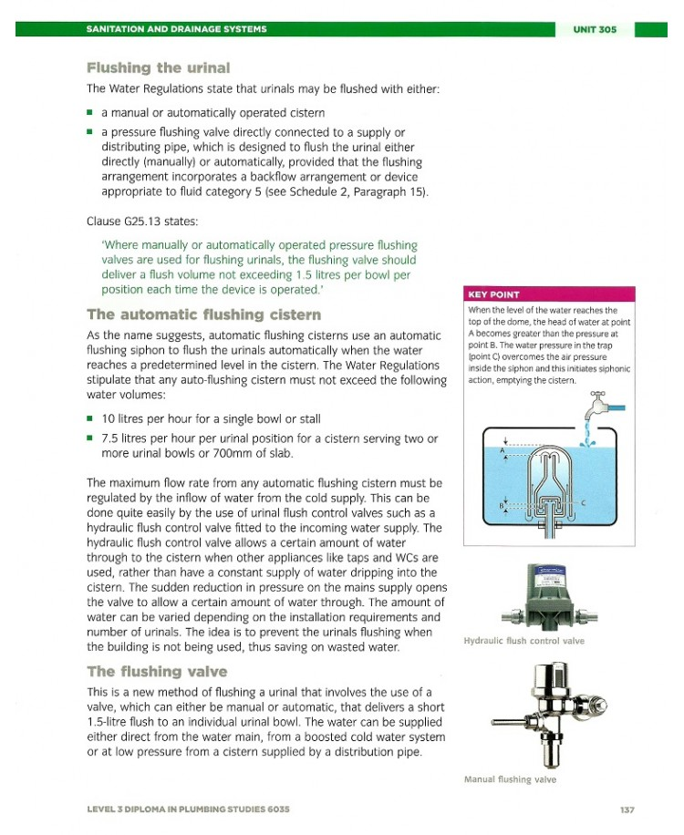 The City & Guilds Level 3 Diploma in Plumbing Studies 6035 Units 302,305,307 and 308 (PDF)
